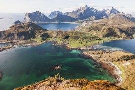 Offersøykammen - vandring i Lofoten, Norge