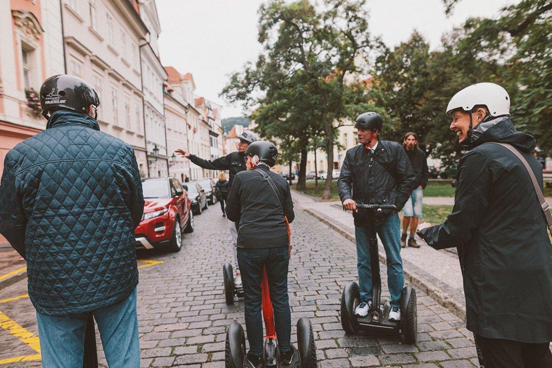 Prag Segway Tjeckien