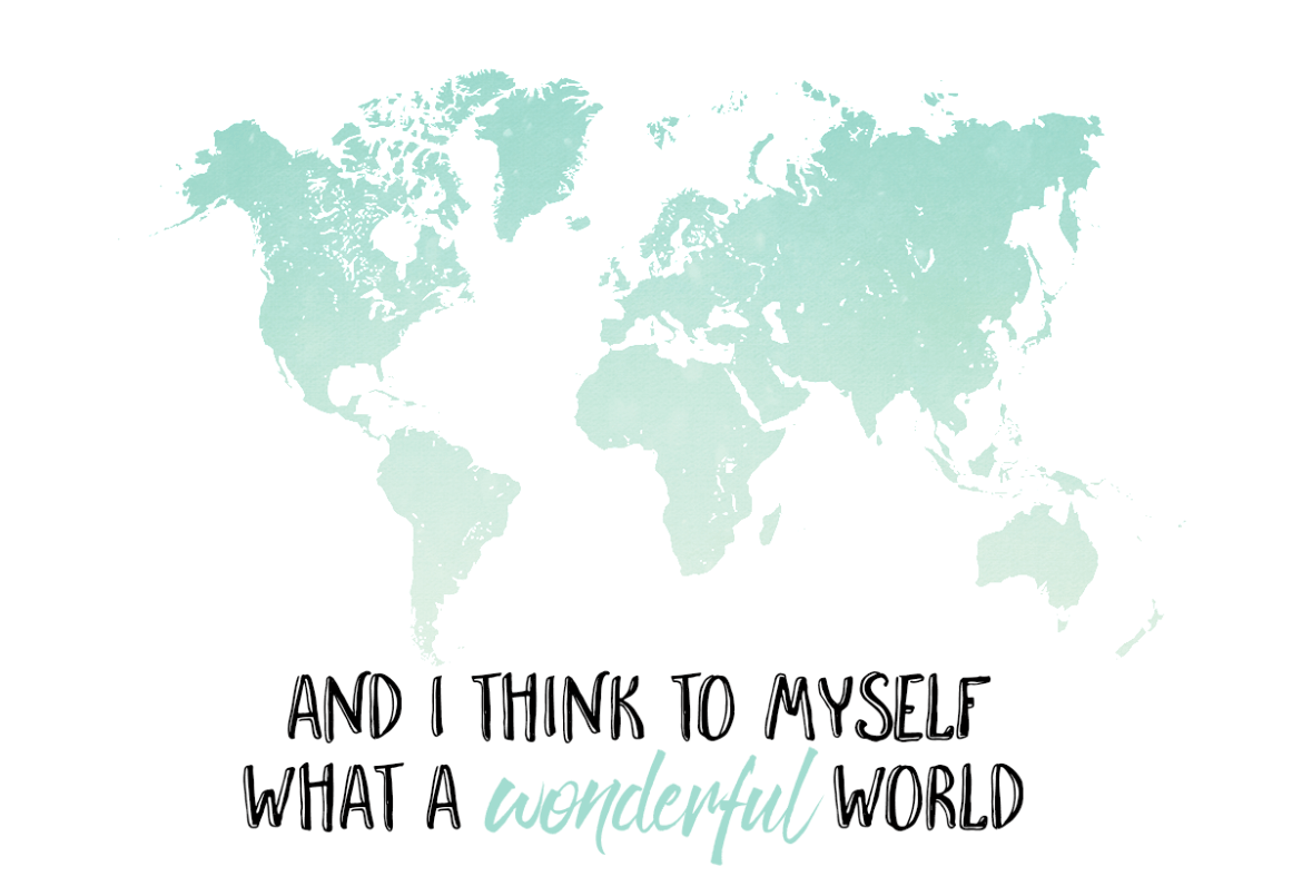 Resecitat: And I think to myself, what a wonderful world Ohdarling.org