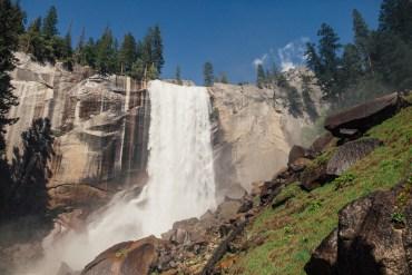 Dagbok från Yosemite - På väg till Vernal Falls