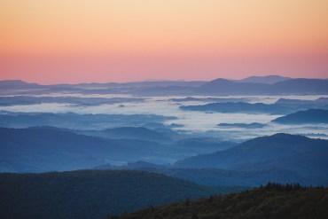 Snapshots från en magisk morgon i Virginia