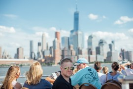 Båttur med Circle Line Cruises i New York