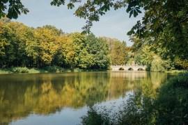 Några timmar i Łazienki Park i Warszawa