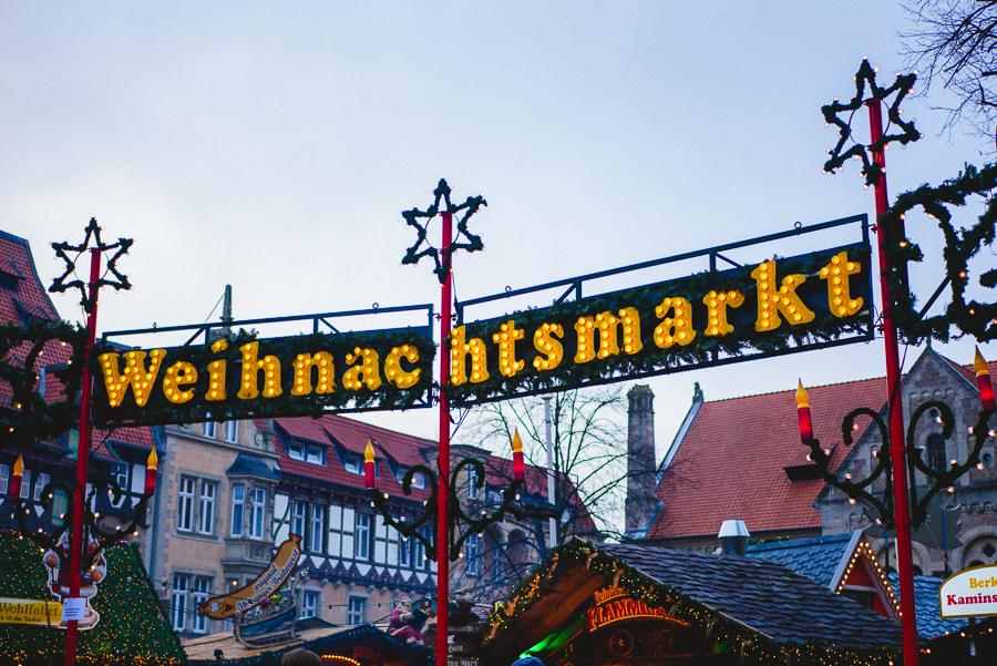 Julmarknaden i Braunschweig.