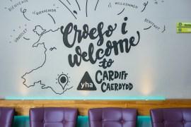 Checka in: YHA Cardiff Central - ett lyxigt och 5-stjärnigt vandrarhem i Wales