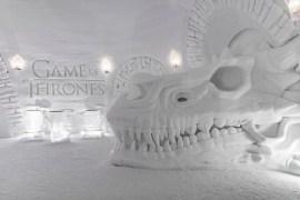 SnowVillage, en Game of Thrones-inspirerad snövärld utanför Kittilä i finska Lappland