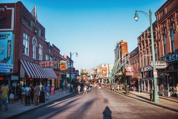 Fem platser att besöka i Memphis
