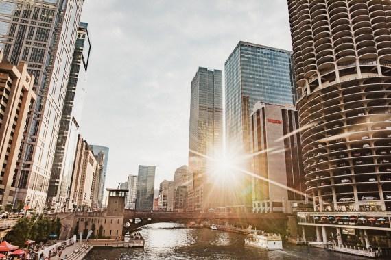 En dag i Chicago - parkhäng, utsikter och sightseeing