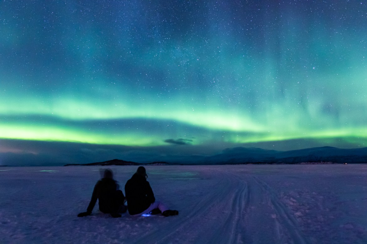 Winter in Kiruna // Northern Lights in Abisko