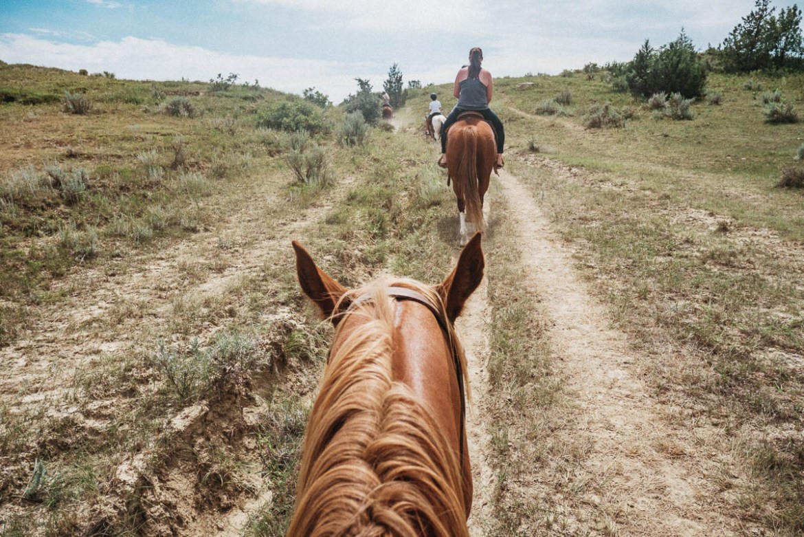 Ridning hos Medora Riding Stables (Medora, North Dakota)