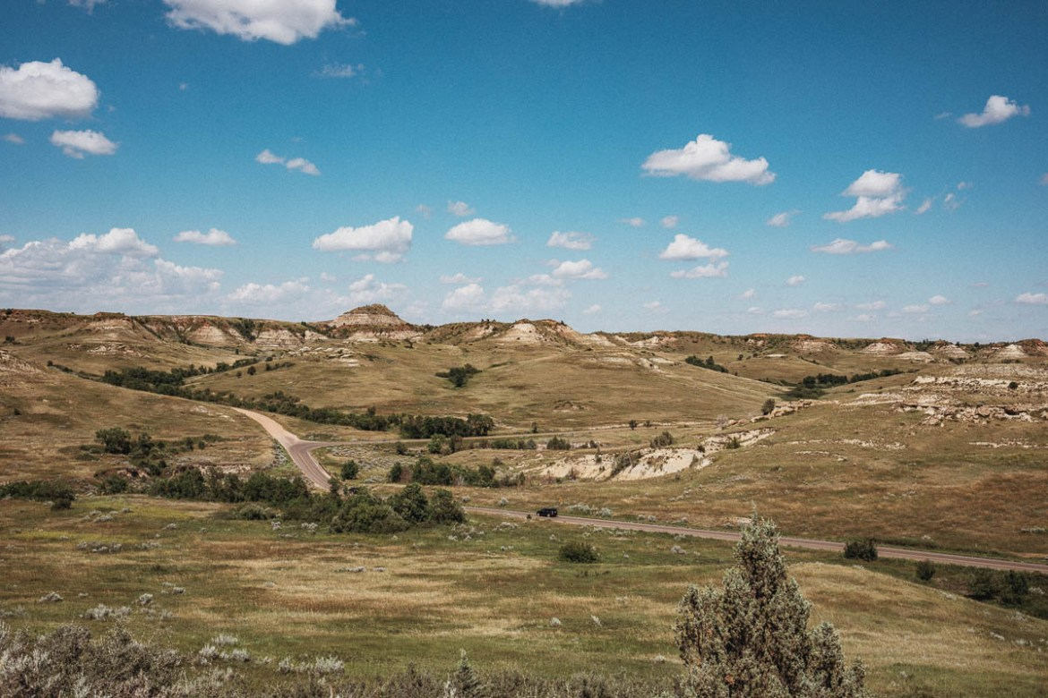 Wind Canyon Trail - Theodore Roosevelt National Park - North Dakota