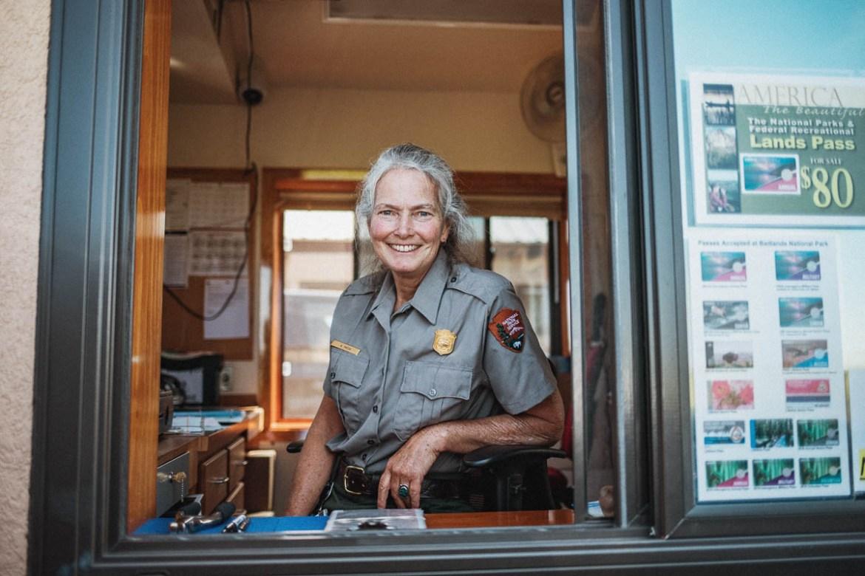 Park Ranger Annie Mesa at Theodore Roosevelt National Park