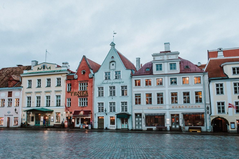 Tallins historiska centrum (gamla stan)