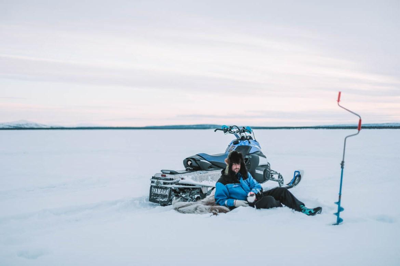 Pimpelfiske i Lappland
