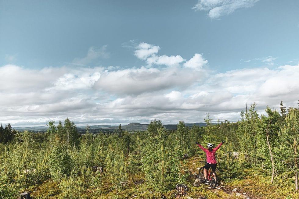 Järvsö-cykla-Skestraleden-Sara-Ronne-Traningsgladje