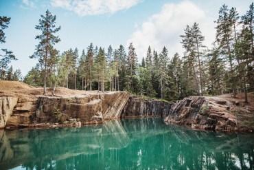 Östra Silvbergs gruva – ett badparadis i Dalarna