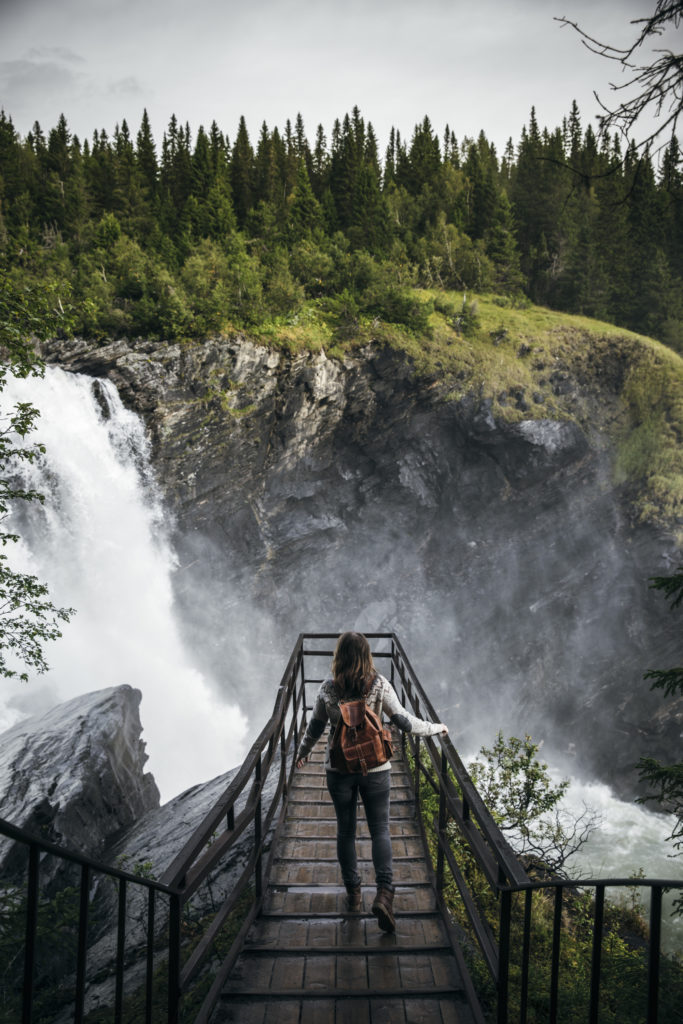 Tännforsen i Jämtland - Bild tagen av Maria Bååth