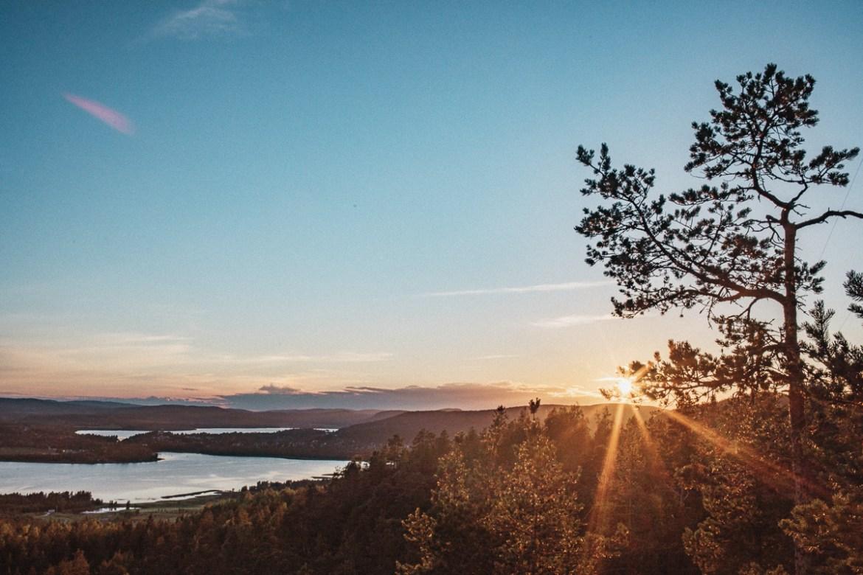 Utsikten från Varvsberget i Örnsköldsvik || Höga Kusten