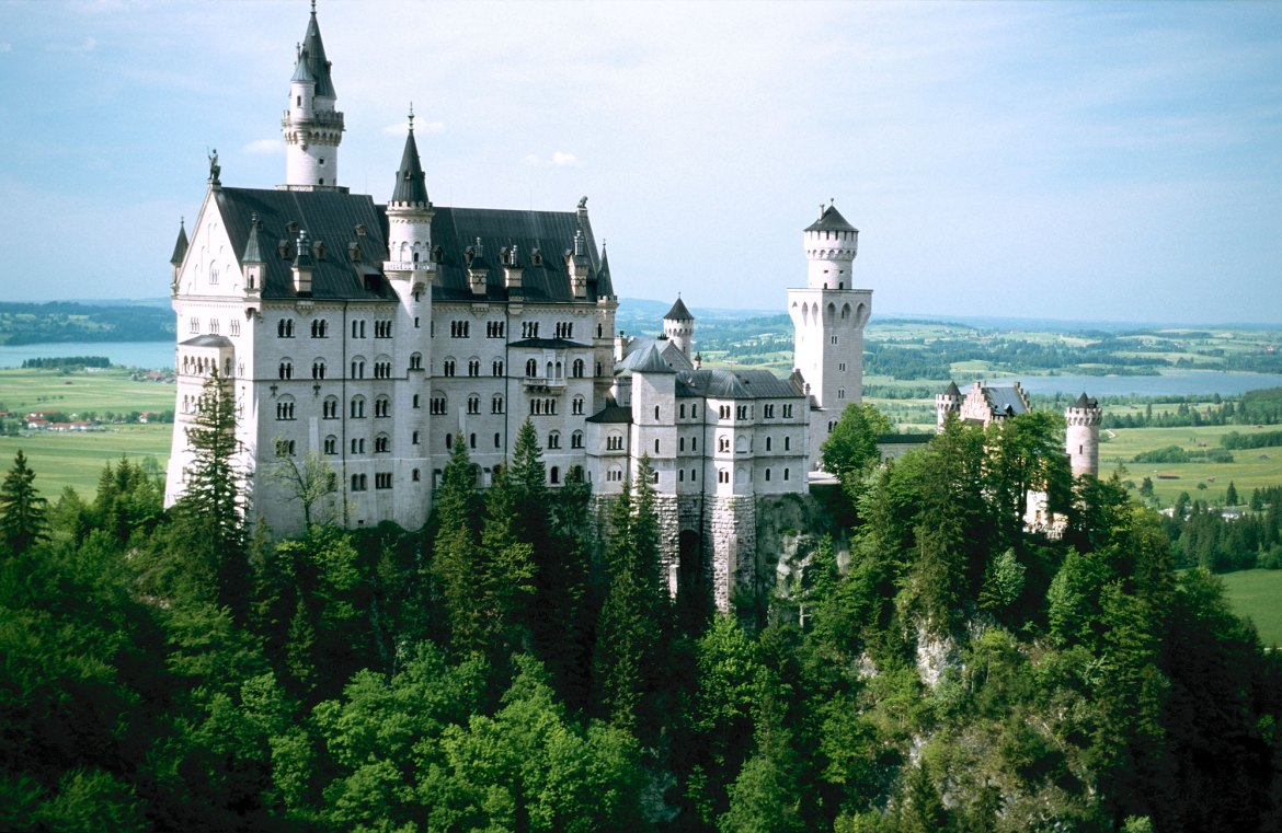 Neuschwanstein © GNTB / Jim McDonald