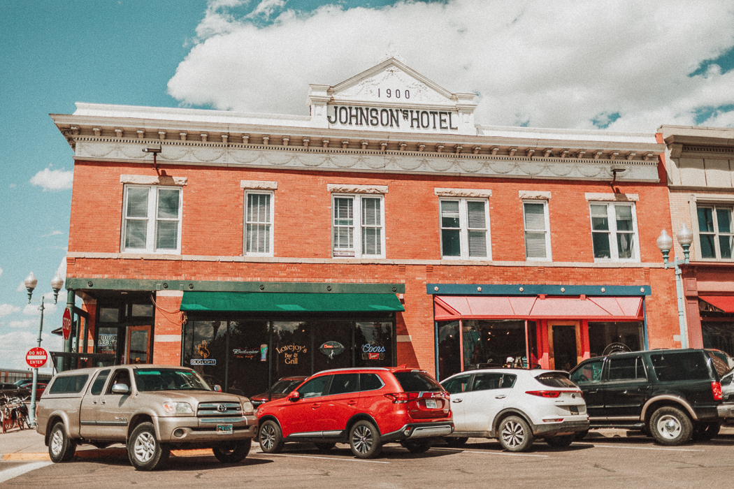 Downtown Laramie, Wyoming - USA
