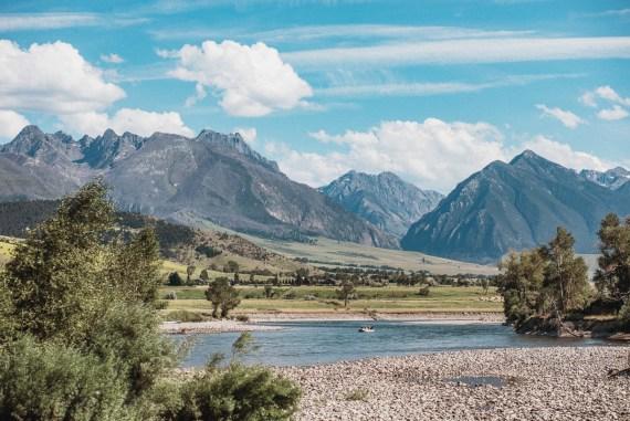 Paradise Valley - Montana - USA