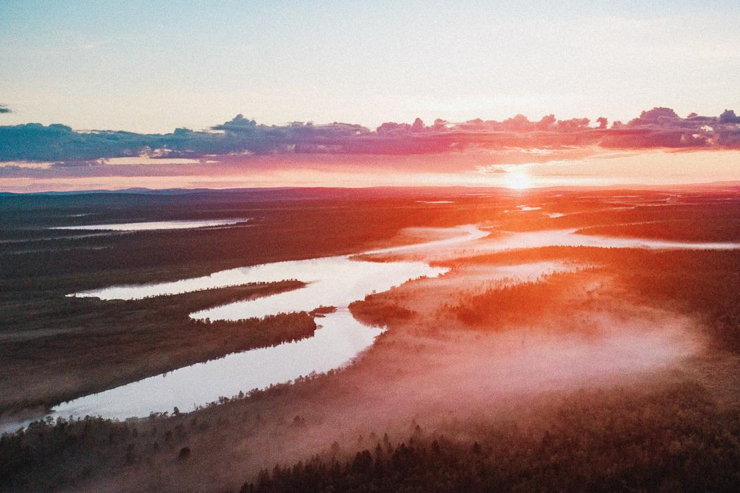 Fotoutmaning September - Solnedgångar och Soluppgångar