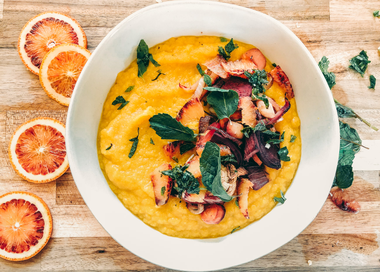 Nourishing Turmeric Mash Recipe (Vegan, Gluten + Oil-free)