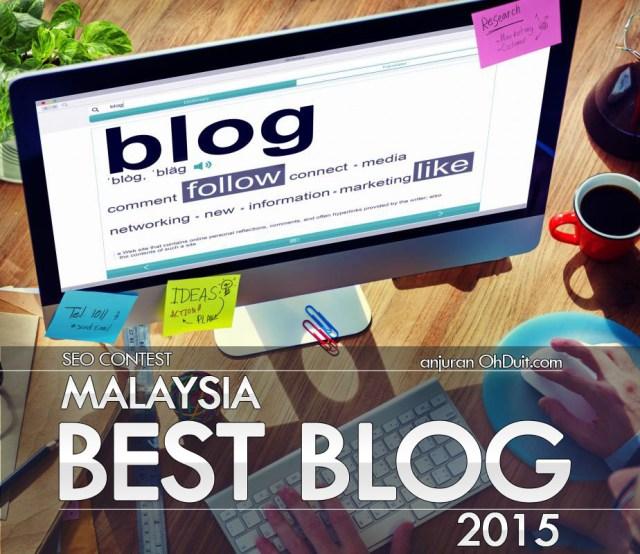 Contest SEO: Malaysia Best Blog 2015