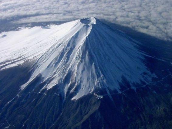 Mt.  Vulcão Fuji, Japão