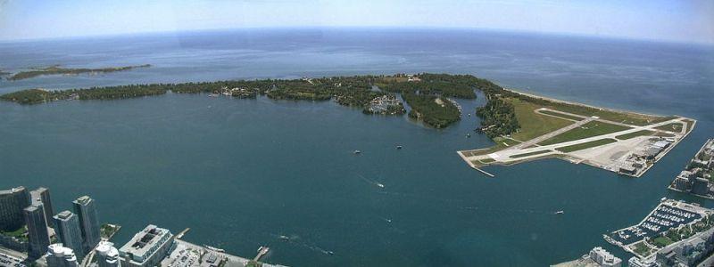 Panorama das Ilhas de Toronto