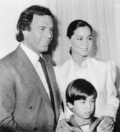 Enrique com seus pais