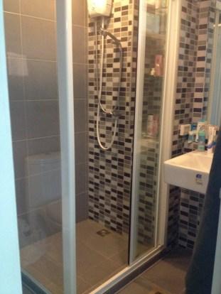 Mein Apartment in Bangkok - das Badezimmer