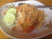 Meine absolutes Lieblingsgericht: Tom Yum Reis mit Meeresfrüchten