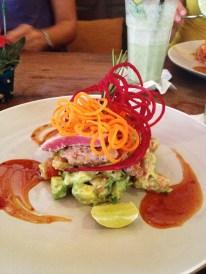 Thunfischfilet mit Avocadosalsa