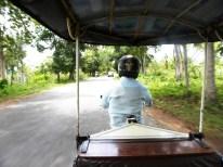 Tuk-Tuk-Fahrt zum Banteay Srai Tempel