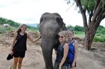 Miri, Lucie und ich mit der lieben Boa