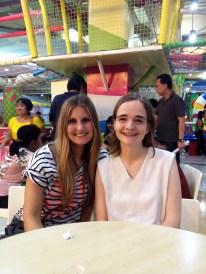 Mit meiner Cousine Anna