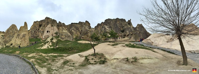 Another picture of the Goreme park. (By this point, my fingers were so cold I had to take each picture like 5 times to get one without shaking.)