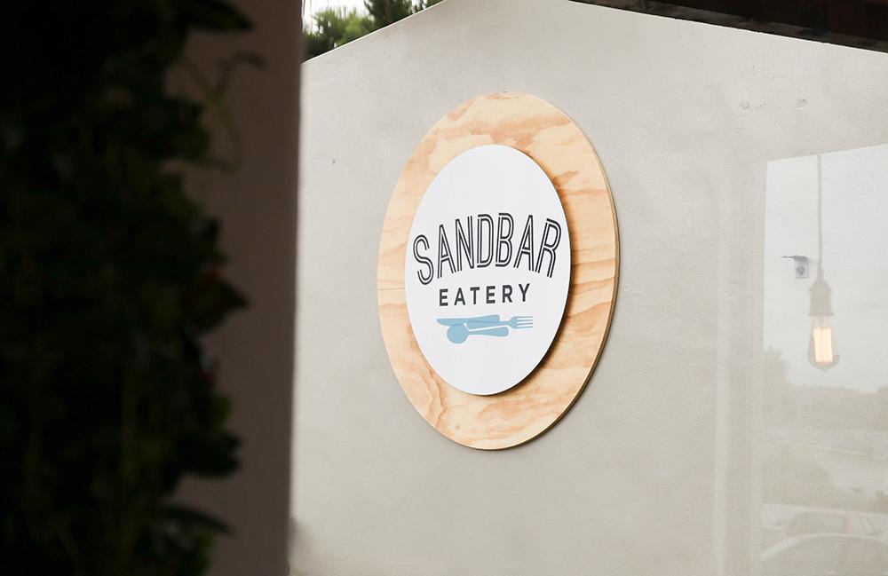 Sandbar Eatery Sign