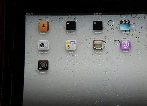Cydia is being installed on iPad 2 via JailbreakMe