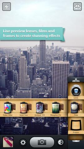 kitcam iphone app screenshot