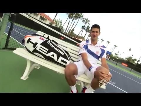 Novak Djokovic Head
