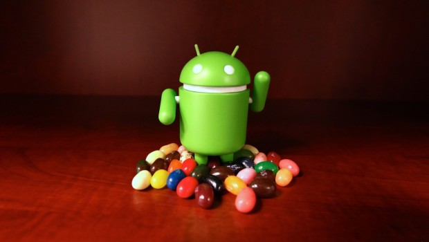Android Jelly Bean 4.1.2 updated
