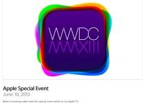 Apple WWDC 2013 Event