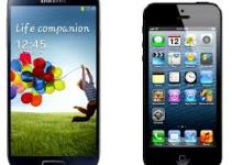 Photo of Samsung Galaxy S4 and iPhone 5