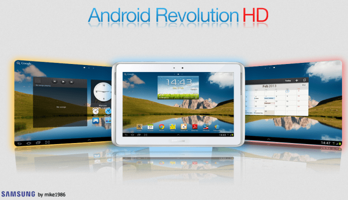 Step by Step Guide to Install Android Revolution HD ROM on Galaxy Note 10.1