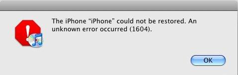 iTunes Error 1604: How to Fix