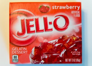 Jell-O as a treat for lunch or as a snack