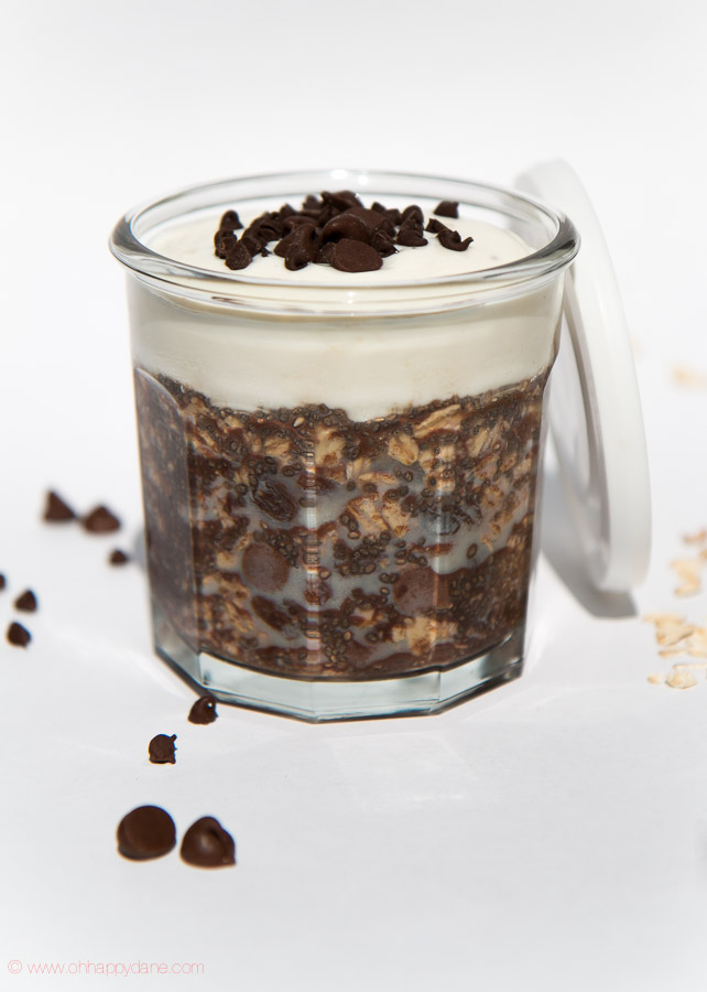 Overnight Oats Double Chocolate Chia Combo