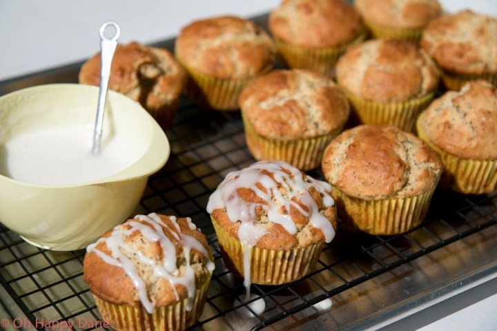 Muffins with Lemon and Poppyseeds